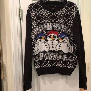 American Stitch penguin sweater. Size large
